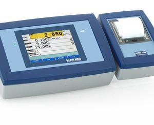 """3590 ET """"TOUCH"""" érintőképernyős mérlegműszer fejlett ipari alkalmazásokhoz"""