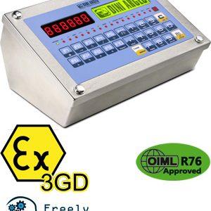 3590 EXT3GD ATEX mérlegműszer