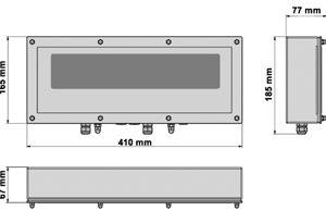 DGT60 mérlegműszer/ismétlőkijelző