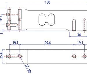 SPG egypont mérlegcella C6 pontossági osztály