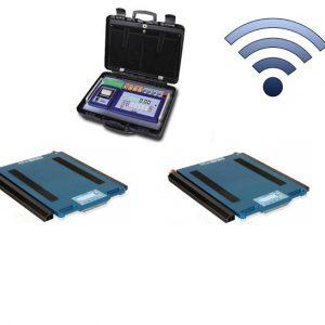 WWSKRF mobil vezeték nélküli tengelymérleg