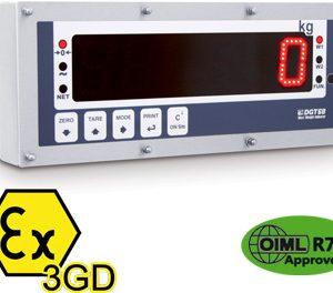 DGT603GD ATEX mérlegműszer/ismétlőkijelző