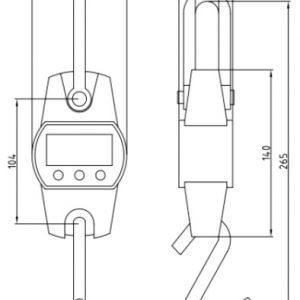 TS300 horogmérleg