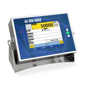 3590 EGT8 érintőképernyős mérlegműszer