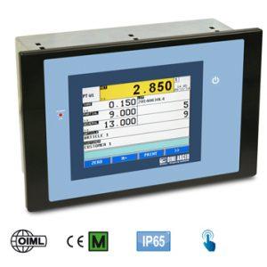 3590 ETB 'TOUCH' érintőképernyős mérlegműszer panel