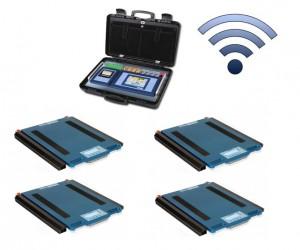 WWS4KRF mobil rádiófrekvenciás gépjárműmérleg