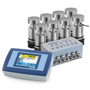 WKPT-C3 analóg mérlegcella szett hídmérlegekhez érintőképernyős mérlegműszerrel