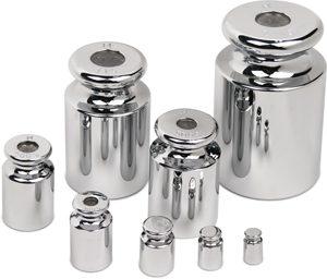 M1 pontossági osztályú ónozott acél súlyok