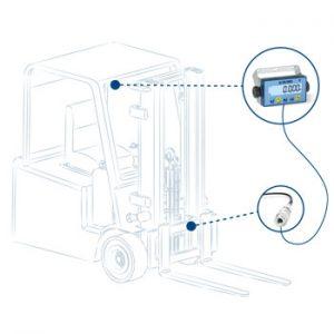 LTP hidraulikus mérleg targoncákhoz